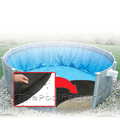 24 Round Pool Liner Guard Floor Pad Liner Protection