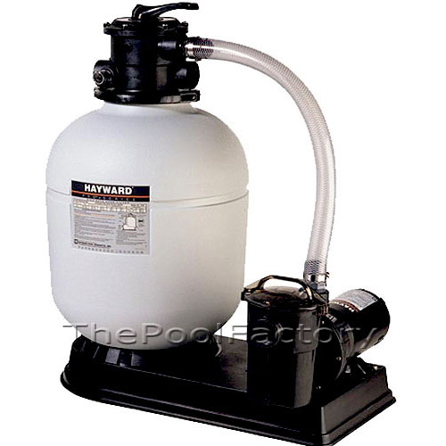 1 5hp Hayward S166t Above Ground Swimming Pool Sand Filter