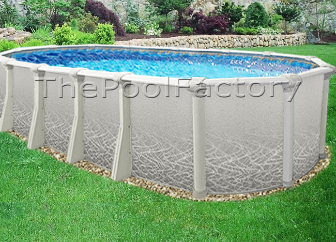 18x33x52 Saltwater 5000 Above Ground Salt Swimming Pool Package 60 Year Warranty Ebay