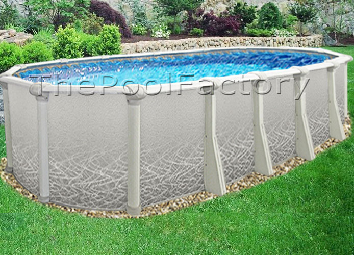18x33x52 Saltwater 5000 Above Ground Salt Swimming Pool Kit 60 Year Warranty