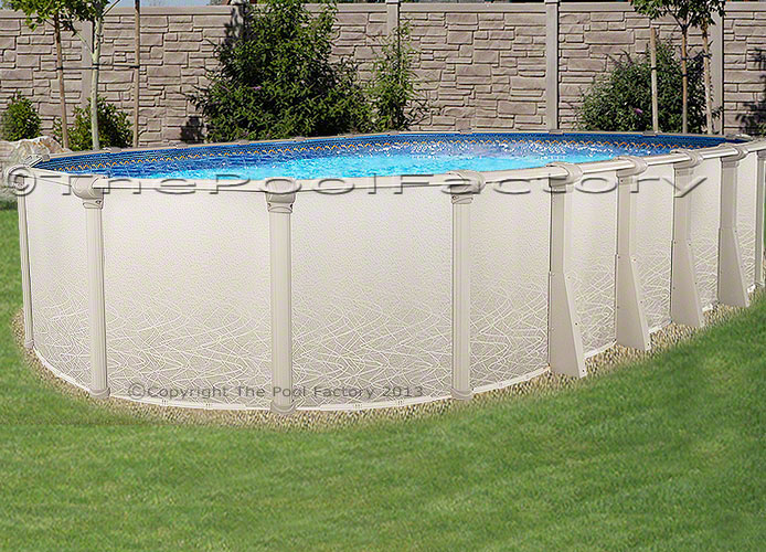 18x33x52 Saltwater 5000 Above Ground Swimming Pool Deluxe Package 60 Yr Warr Ebay