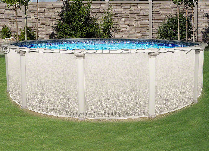 24 Round Saltwater 5000 Above Ground Salt Swimming Pool Kit 52 High Ebay