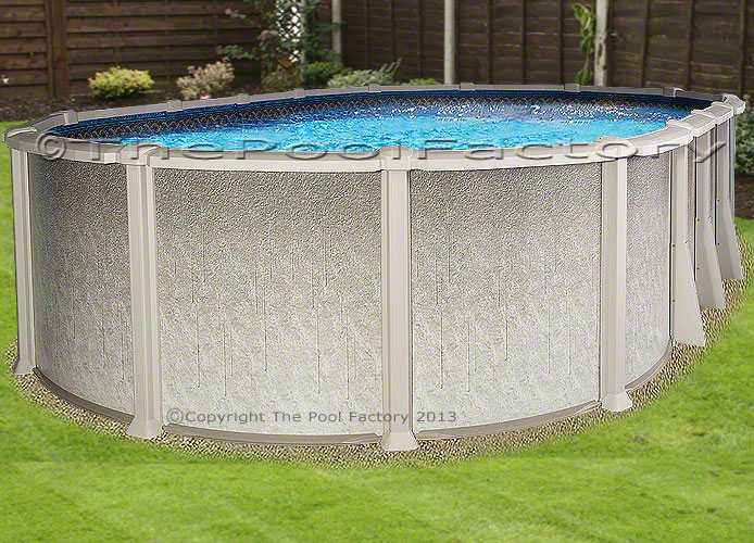 18x40 Oval 54 High Saltwater 8000 Above Ground Salt Swimming Pool Package Ebay