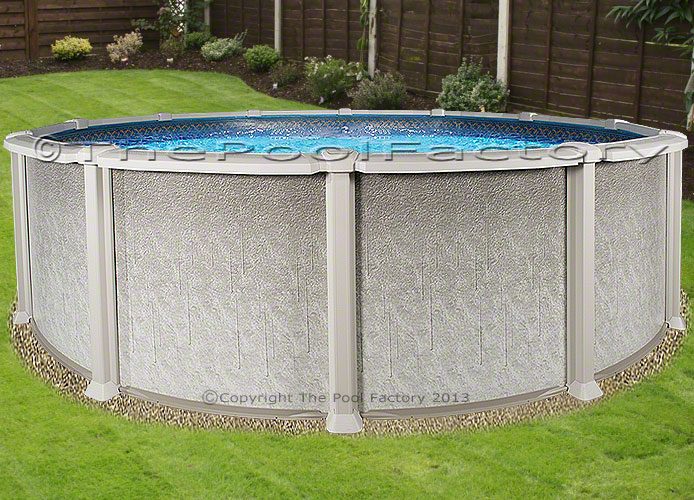 24 round 54 high saltwater 8000 above ground salt for Above ground pool packages cheap