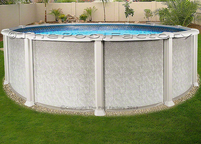18 Round Saltwater 8000 Above Ground Salt Swimming Pool Kit 54 High Ebay