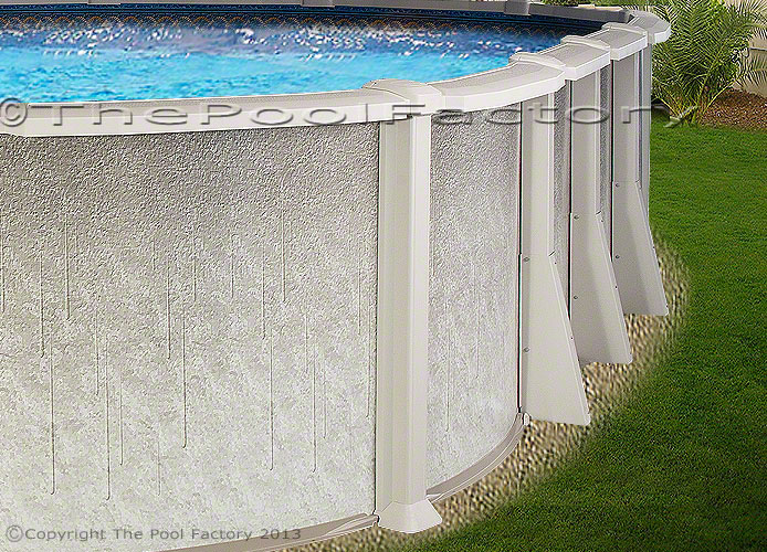 18x33 Oval Saltwater 8000 Above Ground Salt Swimming Pool Kit 54 High Ebay